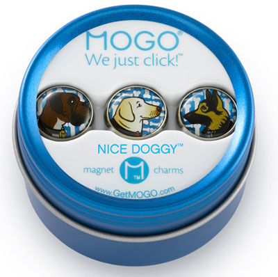 MOGO Magnet Charms - Nice Doggy